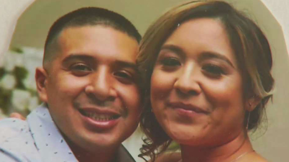 Carlo Mellado, a 30-year-old father of two, was slain right outside his home in the 800 block of 167th Street in the Harbor Gateway area of South LA.