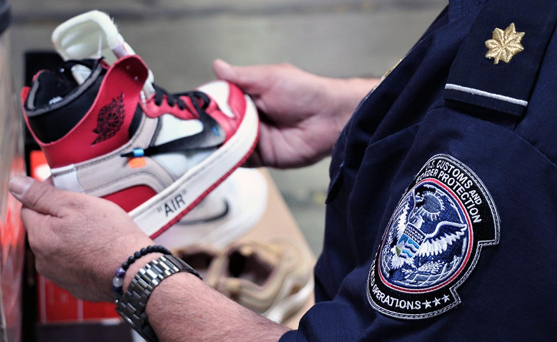 Fake Air Jordans Are Among 14,800 Knockoff Nike Seized at LA Port