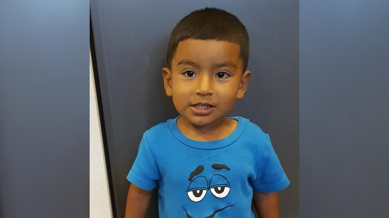 A 2-year-old boy was found wandering the streets in North Hills on July 24, 2017.