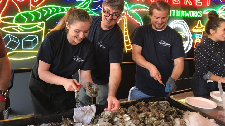 The art of shuckery will be in focus at Grand Central Market on Oct. 13 and 14. As will the art of oyster-eating enjoyment from a host of top-notch farms from various coasts.