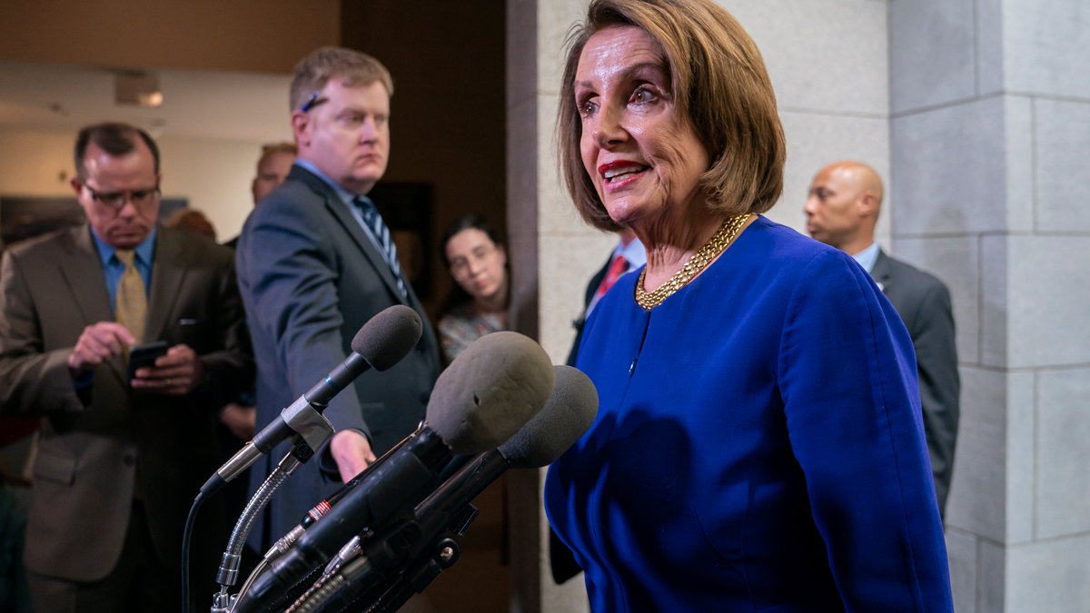 Speaker Pelosi Says Trump Is Engaged in a 'Cover-Up'