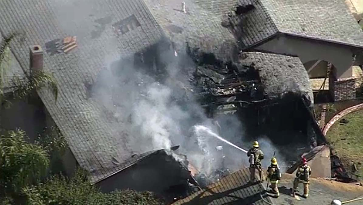 Small Change in Routine Might Have Helped Three Escape From House in Fiery Plane Crash