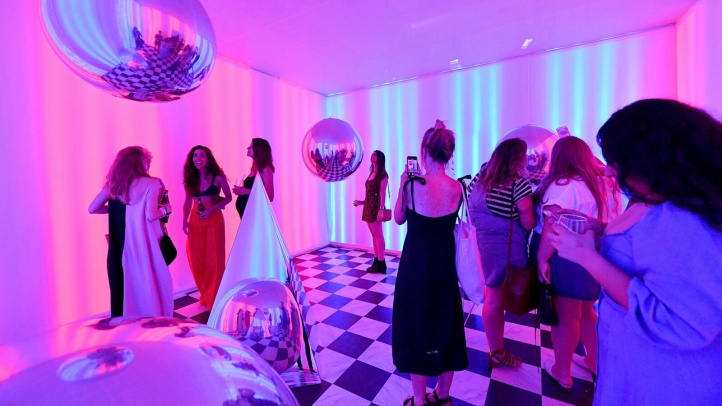 A walk-inside world of rooms designed by artists, helmed by companies, and dreamed-up by individuals? That's 29 Rooms from Refinery29, the stylish, forward-looking entertainment company. It is back in LA, in December, with a reality-expanding vibe, so grab your camera, a pal, and snap away.