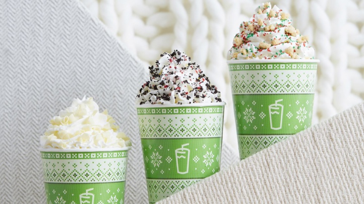 Holiday Milkshakes Are Still Very Much a Thing
