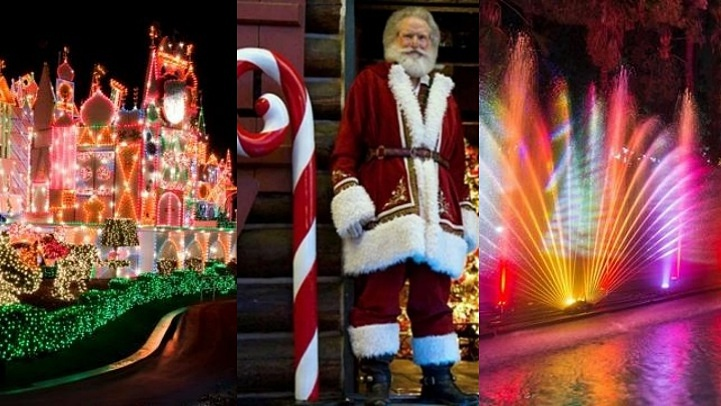 LA Zoo Lights, A Nostalgic Christmas at Santa's Village, and Holidays at the Disneyland Resort head into their last celebratory weekend for the season, as do other shimmery Southern California scenes.