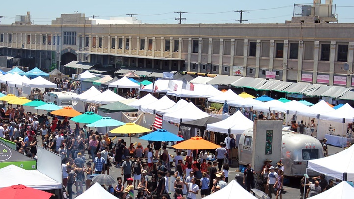 Why hey and hello again, Smorgasburg LA. Ready to chomp around the ROW DTLA market? It's back on Sunday, Jan. 13 (and, yep, admission is free, as always).