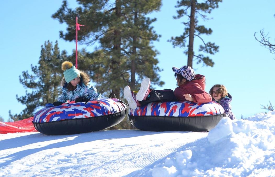 Slide Into Spring Break Fun at Big Bear's Snow-Tubing Park