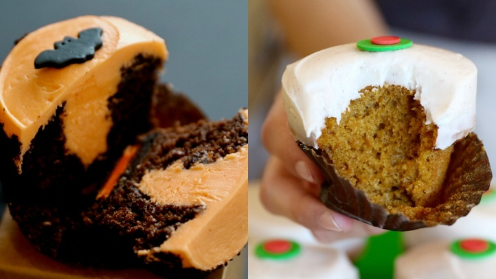 Fall for Seasonal Cupcakes at Sprinkles