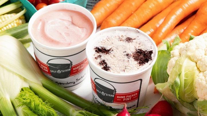 Oh Yes, It's Vegetable Ice Cream Season