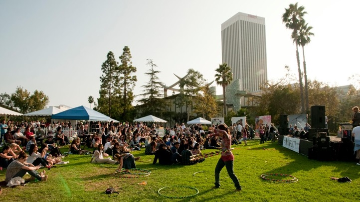 Join the all-ages, afternoon-long lark at the La Brea Tar Pits on Saturday, Sept. 22.