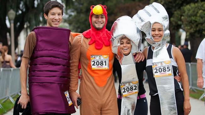 Some 3,000 participants are expected at the 2018 Long Beach Turkey Trot. Don your best turkey togs and make for 1 Granada Ave. on Nov. 22.