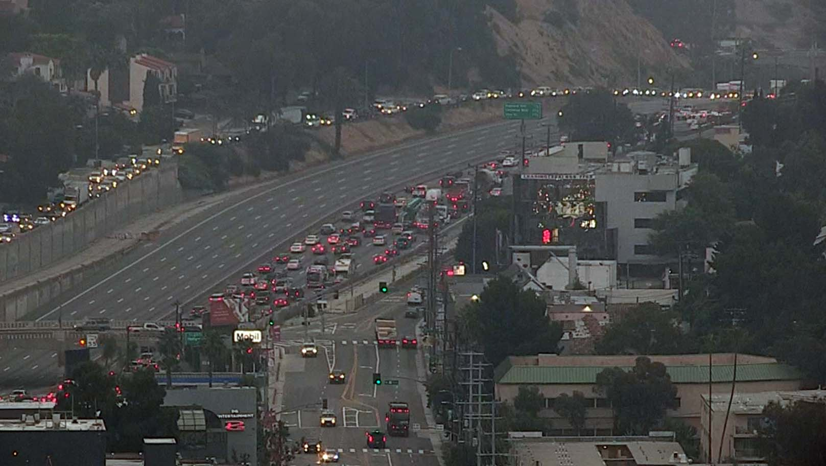 101 Freeway Reopens After Morning Closure in Cahuenga Pass