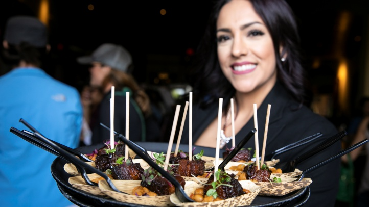 Head for The District in Tustin on Saturday, Oct. 27 for a line-up of flavorful snacks and Halloween-fun to-dos. A ticket is $30. (Photo by Brian Feinzimer/Capture Images)