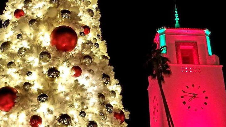 The handsome train station is lighting its tree, and launching its Cocoa Concert series, on Thursday, Nov. 29.
