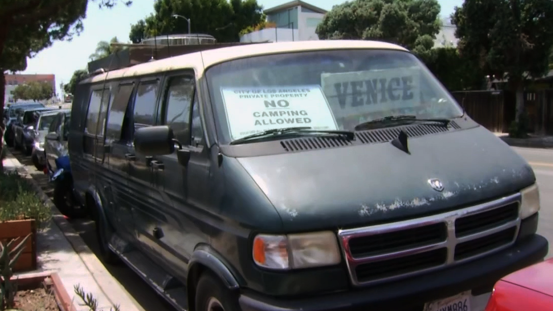 Residents Fed Up With Man Renting Vans to Homeless
