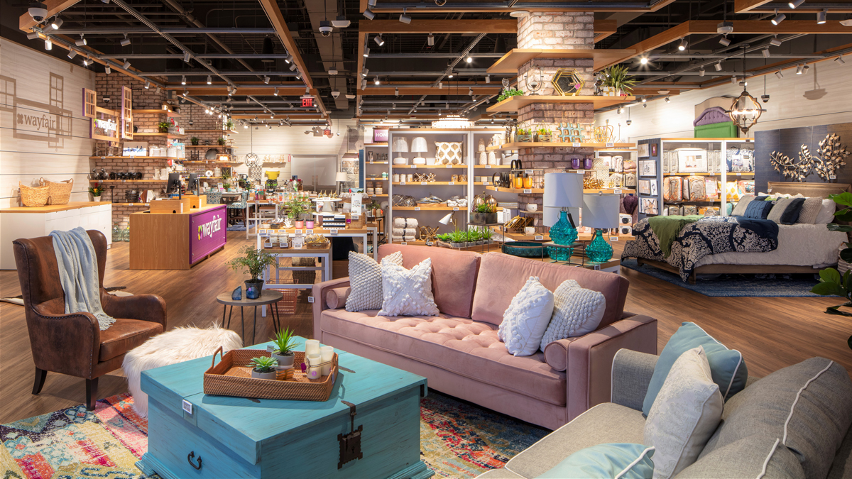 Wayfair to Open First Permanent Store at Massachusetts Mall