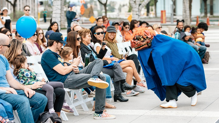 Dance your way to DTLA on Saturday, Nov. 3 for a bunch of free and mind-growing happenings along Grand Avenue, from Temple to 6th.