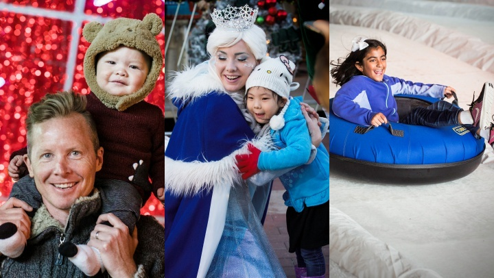 Tubing, ice skating, cool-weather'd character meet-ups, and more is twirling into Winter Fest at the OC Fair & Event Center, starting on Thursday, Dec. 20.